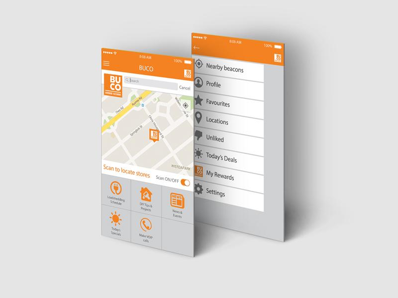 BUCO App Design