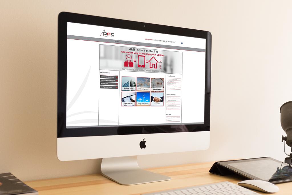 PEC Utilities Website